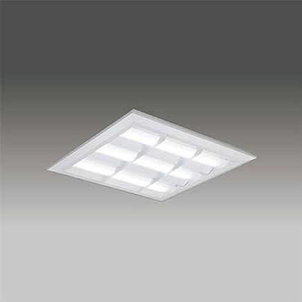 東芝 LEDベースライト TENQOOスクエア LEDバータイプ FHP32形×3灯用器具相当 昼白色 直付埋込兼用形 バッフルタイプ 埋込穴□540mm AC100V~242V LEKT751652N-LD9