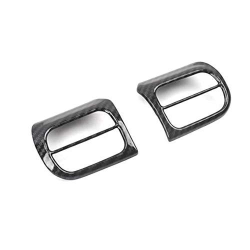LYSHUI Car Chrome Lenkrad Pailletten dekorative Rahmenabdeckung, für Citroen C5 Aircross 2017 2018 Car Detector Stick Styling