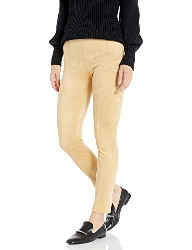 Armani Exchange AX Damen Suede Form Fitting Leggings, Toffee, 38
