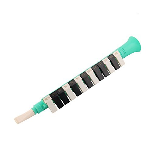 DealMux cuerno en forma de instrumento musical de viento Clarinete recta 13 llaves de juguete Educación