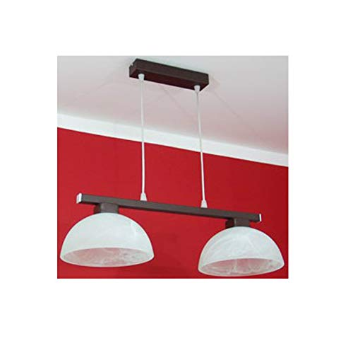 KML Suspension Lampe Design Bloom 225/2 Applique Top Design Lampe (Abat-Jour Rond)