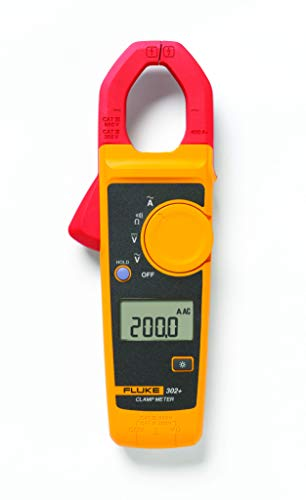 Fluke 302+ 400AC Clamp Meter (FLUKE-302+/EM ESP)