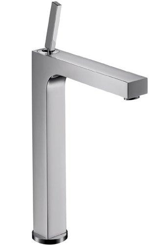 Axor Citterio Einhebel-Waschtischmischer 310 mit Zugstangen-Ablaufgarnitur für Waschschüsseln, Chrom