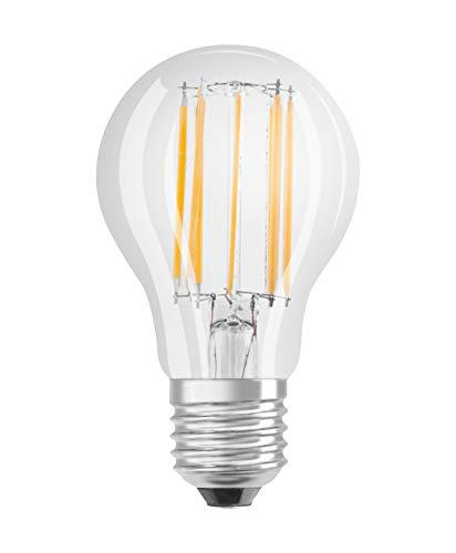 Osram Lampadina LED a filamento, goccia, E27, 94W, luce calda, non dimmerabile, Classe Energetica A++, standard, vetro
