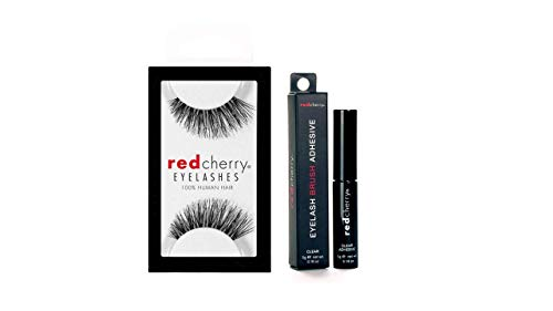Red Cherry 43 Original Wimpern und Duo Kleber Original, aus den USA