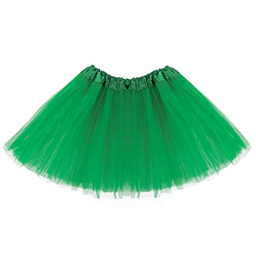 belababy Girl Skirts 3 Layers Organza Baby Tutu, 2-8, Green