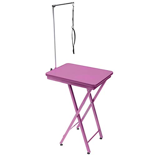 GROOM PROFESSIONAL Ring Side -Dog Grooming Table Pink