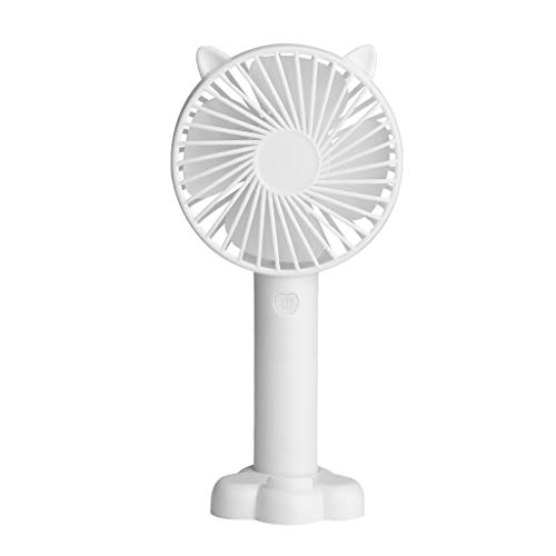 ZAU Whole Room Air Circulator Fan,Family Office Personal and Kids Mini Handheld FanPersonal Portable Desk Stroller Table Fan Cooling Electric Fan Small and Chic Best Gift for Lover
