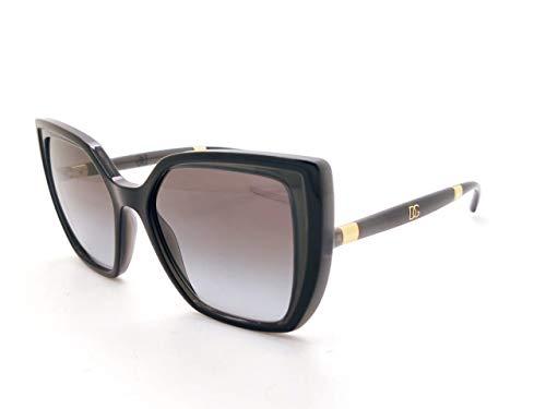 Dolce & Gabbana Gafas de Sol DG MONOGRAM DG 6138 Black Grey/Grey Shaded 55/18/145 mujer
