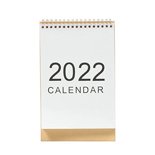 Calendario De Escritorio 2021-2022, Calendario De Escritorio Con Plan De Notas, Calendario De Escritorio Plegable De Pie, Impermeable, Con Encuadernación De Alambre Doble Fuerte, Septiembre