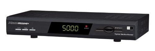 Micro M120HD+ digitaler HDTV Satelliten-Receiver (HD+, HDMI, USB 2.0, SCART, inkl. HD+ Karte für 1 Jahr) schwarz