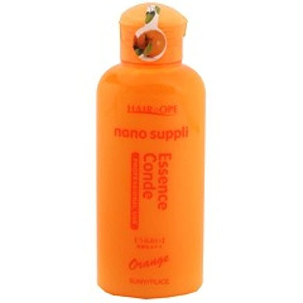 ベーカリーとティームプロフィールサニープレイス ハイグレード ナノサプリ エッセンストリートメント オレンジ 120ml