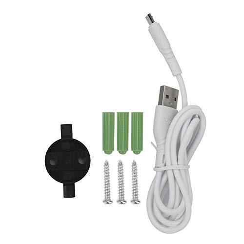Sistema de cámara de Seguridad para el hogar almacenado automáticamente con detección de Movimiento, cámara de Seguridad WiFi inalámbrico para Exteriores, Seguimiento Humano para su(Transl)