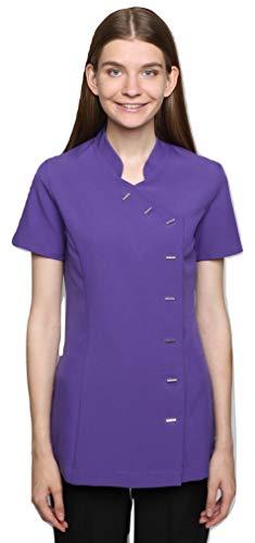 Mirabella Health & Beauty Damen Berufsbekleidung Kasack Arete Lila, Gr.- 40/Herstellergröße- 12
