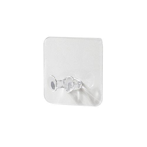UKtrade Gancho de almacenamiento de pared para enchufe de alimentación Soporte adhesivo de pared para oficina en el hogar (3 piezas)