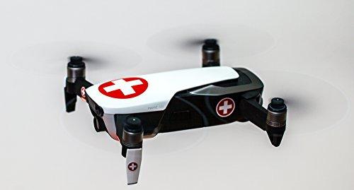 Roboterwerk Drohnen-Abzeichen internationaler Militärs Aufkleber Folie – Modellflug Sticker Drohne Zubehör Emblem – professioneller Digitaldruck (Switzerland)