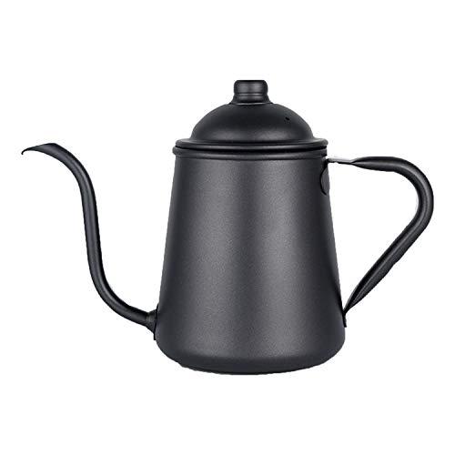 YXXHM- caffettiera Lavaggio a Mano, Uso Domestico Appeso Orecchio Coffee Pot, Long-Mouth Lavaggio a Mano, Sottile Bocca Steaming Pot