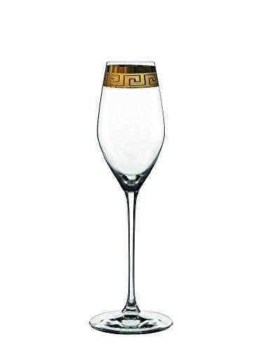 Spiegelau & Nachtmann, 2-teiliges Champagnerglas-Set, Kristallglas, 300 ml, Muse, 0098060-0
