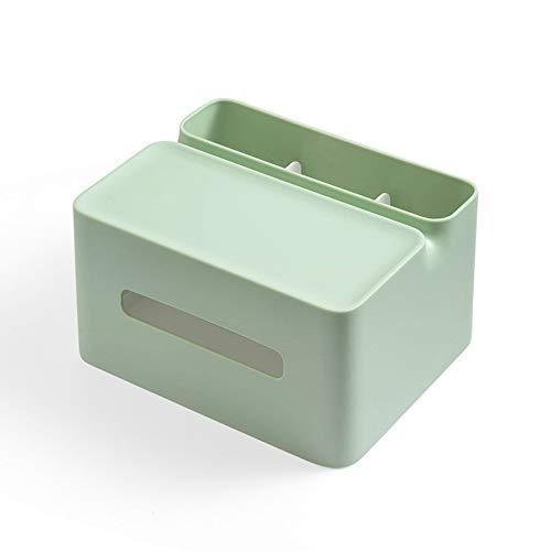 donfhfey827 Multifunktionale Aufbewahrung Taschentuch Papiertuch kreative Fernbedienung Handyhalter Schreibwaren Stift Schublade Fach