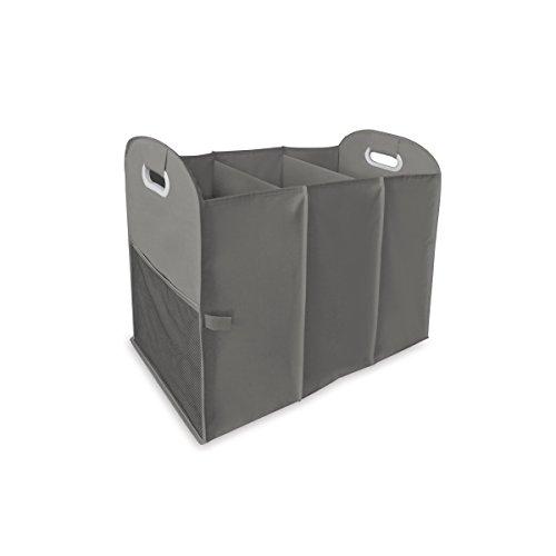 Homz Accordion Laundry Sorter, 3 Load Capacity, Grey