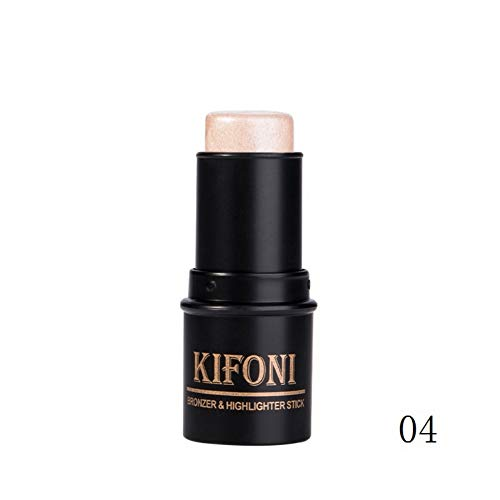 Oyalaiy Makeup Highlighter Stick Highlighter Palette Highlight Powder Face Shimmering Pulver - Face Contouring