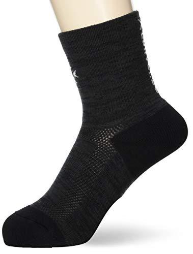 [コンバース] バスケ 靴下 クッションソックス 日本製 抗菌 防臭 CB192001 ブラック/シルバー 日本 2527 (FREE サイズ)