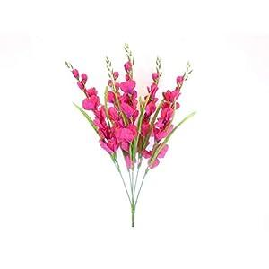 Gladiolus Bush Artificial Flowers 26″ Bouquet -Home Decor-Kitchen Decor-Artificial Flowers-Flowers-Artificial & Flowers-Garden Decor–Wedding Decor-Wedding Decorations