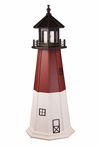 AmishShop.com Poly Barnegat Lighthouse Replica 5' High