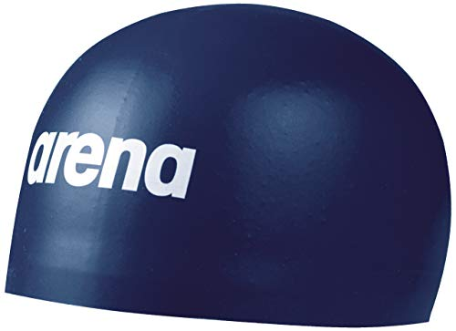 Arena 3D Soft Swim Cap, Navy, Small