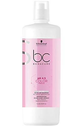 Schwarzkopf Professional BC Color Freeze Silver Shampoo Champú - 1000 ml