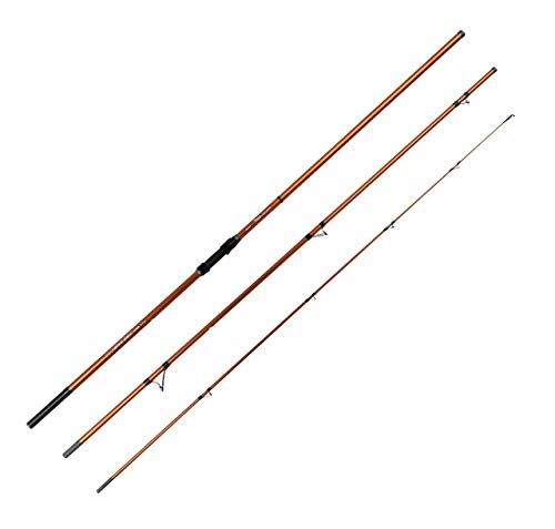 Okuma Trio Rex Surf 420cm 100-200g Brandungsrute, Angelrute zum Brandungsangeln, Rute zum Brandungsfischen, Angeln an der Ostsee, Nordsee, Plattfischangeln, Dorschangeln, Aalangeln