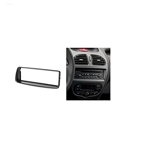 SHUANGXI benliestore Individual DIN Audio Fascia FIT para Peugeot 206 Stereo Radio GPS DVD Stereo CD Panel DE CD Dash Mount DE INSTALACIÓN DE LA INSTALACIÓN DE LA INSTALACIÓN del Joy