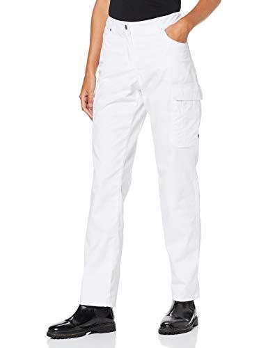 BP 1642-686 dames jeans gemengde stof met stretch wit, maat 38n