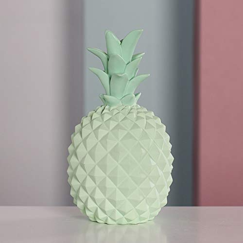 Money Banks Nordic Style Piggy Bank Creative Pineapple Coin Piggy Bank Resin Simulation Fruit Appearance Piggy Bank Living Room Restaurant Home Wine Cabinet Decorations Ornaments Gift Best Toy Gifts f