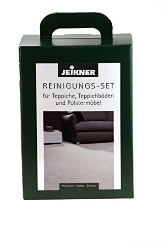 Jeikner Reinigungsset MAXI 8 Teiliges Set für Reinigung von Orientteppiche Teppichböden