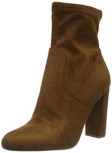 Steve Madden Editt Ankle Boot, Bottines Femme, Marron (Brown 003), 40 EU