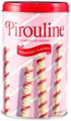 Pirouline Rolled Wafers Strawberry 14 oz product image