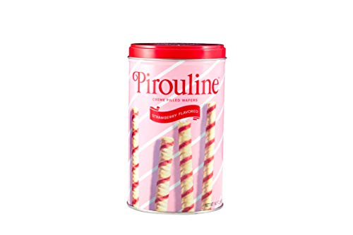 Pirouline Rolled Wafers, Strawberry, 14 oz