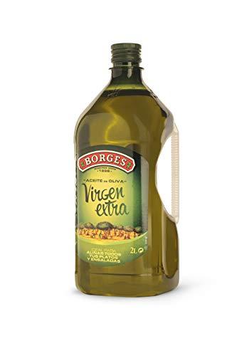 Tramier Huile d'olive vierge extra (1 x 2 L), bouteille d'huile au goût fruité et délicat, huile alimentaire à base d'olives d'Espagne de haute qualité
