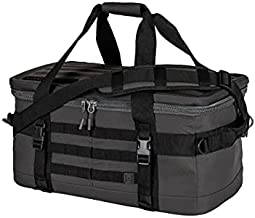5.11 Tactical Range Master Duffel Bag Set - Includes Single Pistol Case, Small Pouch, and Medium Pouch 47 Liters, Style 56495, Slate