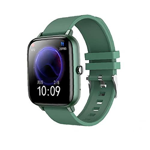 GGOOD Smart Watch Deporte Impermeable SmartWatch Tasa de Seguimiento de tarifas cardíaca Dispositivo de Seguimiento Pulsera Verde Productos electrónicos Inteligentes