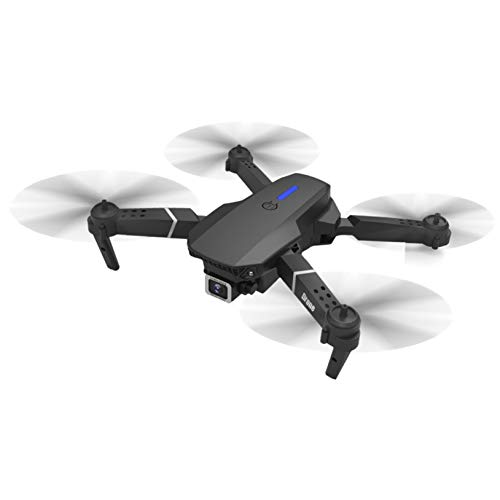 VithconlZQ Drone Single-Camera Quadcopter, Super Long Life Long Flight Time 4K HD Aerial Photography Folding Remote Control Drone for Kids Adult (Black)