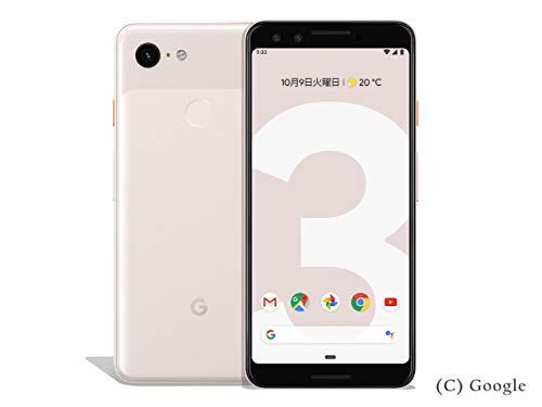 国内版SIMフリー Google Pixel3 XL 128GB Not Pink