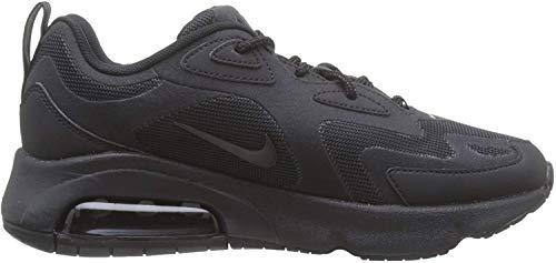 Nike W Air MAX 200, Zapatillas de Running para Asfalto para Mujer, Negro (Black/Black 003), 38.5 EU