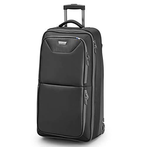 Mizuno Traveller Suitcase Maleta, 73 cm, 30 litros, Negro