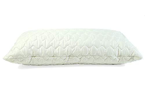 Mara Vital Hanfkissen zum Schlafen gefüllt mit 30% Hanf und 70% Baumwolle/Hanf Kissen für Seitenschläfer, Bauchschläfer und Rückenschläfer/allergikergeeignet (40 x 80 cm, Baumwolle)