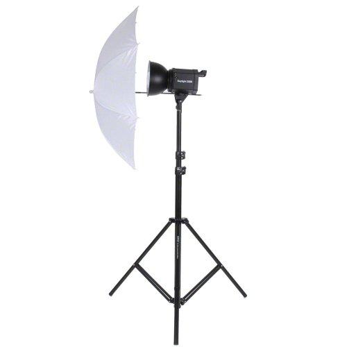 Walimex Studioset Daylight 250S (Dauerlicht 250 W, Lampenstativ, Durchlichtschirm)