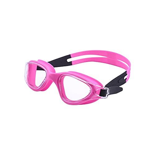 YUZHUKKKPYZ YJ - Gafas de natación para hombre y mujer, impermeables, de silicona, color rojo
