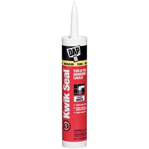 DAP 7079818032 White 18032 Kwik-Seal All-Purpose Caulk 10.1-Ounce