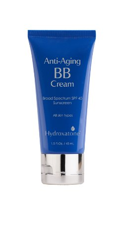 Hydroxatone Anti-Aging BB Cream with Broad Spectrum SPF 40, Medium Skin Tones | Firms, Moisturizes, Softens and Brightens the Skin | Reduces Lines and Wrinkles, 1.5 Fl Oz